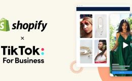 Shopify与TIKTOK合作广告