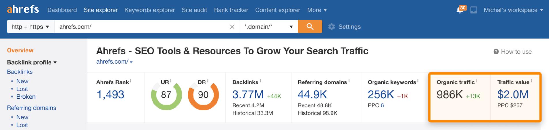 如何查对手网站的流量 2021版